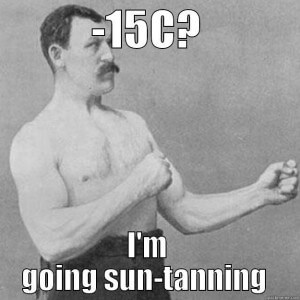 Testicle sun exposure